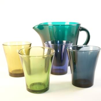 Riihimäen Lasi Oy, Kannu ja lasit